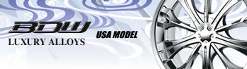 BDW LUXURY ALLOYS USA MODEL